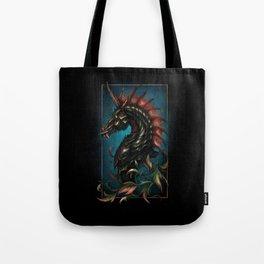 Dark Side Unicorn   Digital Painting Tote Bag