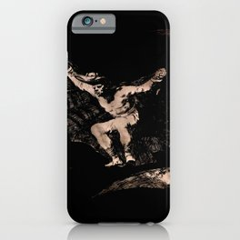 """Francisco Goya """"Where There's a Will There's a Way (A way of Flying)"""" iPhone Case"""