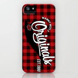 Manny McFly Originals iPhone Case