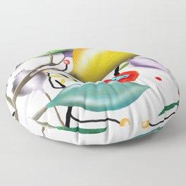 Cinque Terre - Lemons Lemon - Italian Riviera - Limoni Lemon Pattern Home Decor Floor Pillow