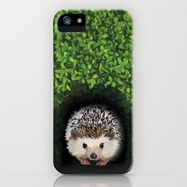 Little Hedgehog in the Hedge iPhone Case