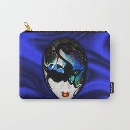 Blue Velvet Venice Mask  Carry-All Pouch