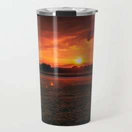 Country Sunset Travel Mug