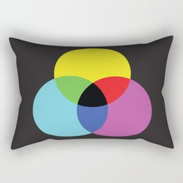 Trio Colour Synthesis Rectangular Pillow