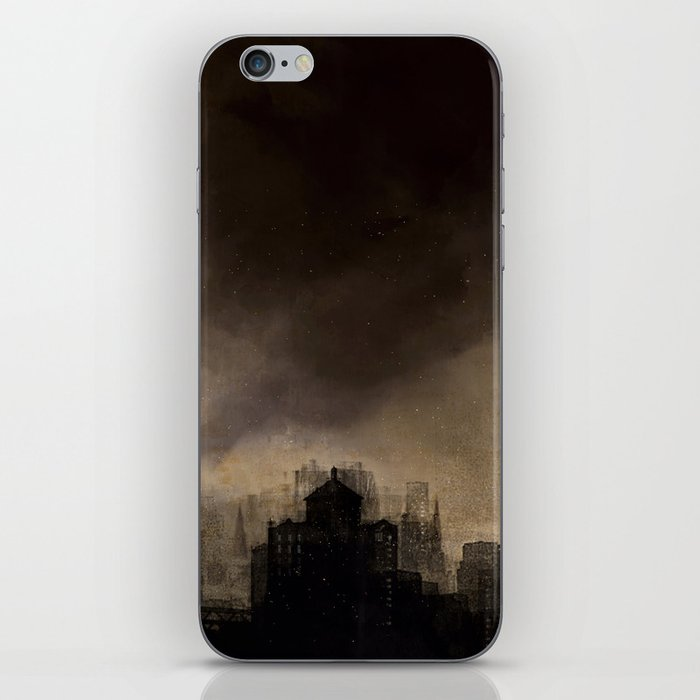 Glasgow dusk iPhone Skin