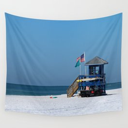Siesta Key Lifeguard Station Wall Tapestry