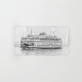 The Boat (Staten Island Ferry) Hand & Bath Towel