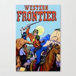 Western I Canvas Print