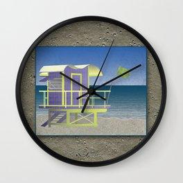 Lifeguard Platform Wall Clock