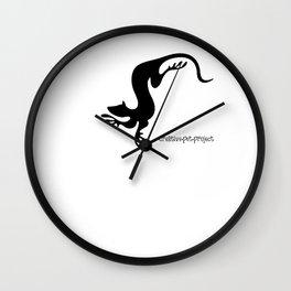 Weasel 1 Wall Clock
