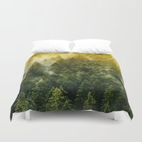 architect Duvet Covers featuring Don't Wake Me Up by Tordis Kayma