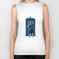 narnia Biker Tanks featuring A Magical Box [Doctor Who, Narnia] by Ruwah