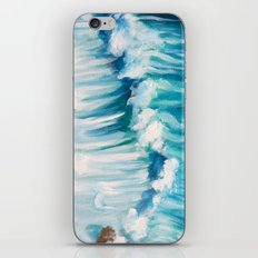 Rocky Waters Painting iPhone & iPod Skin