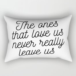 Magic cute The ones that love us Rectangular Pillow