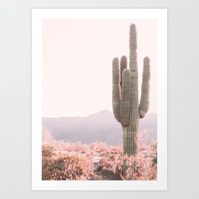 Vintage Cactus Kunstdrucke
