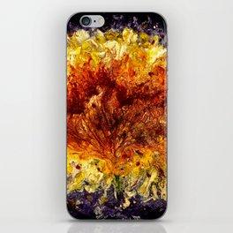 Fire Flower - Vulpecula iPhone Skin