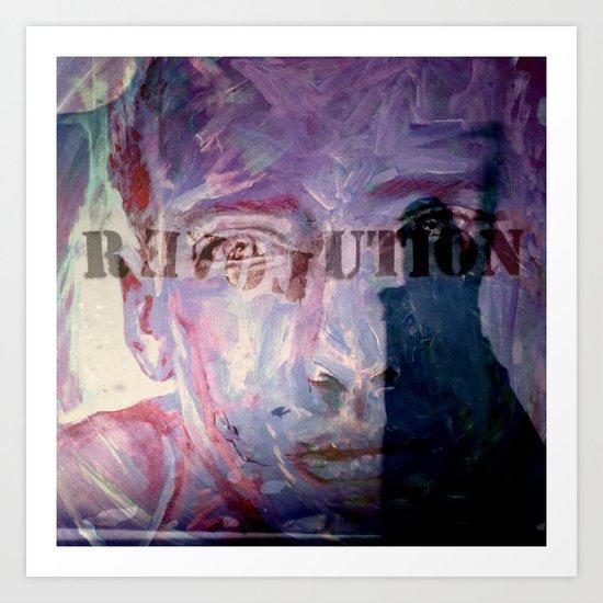 R EVOL UTION Art Print
