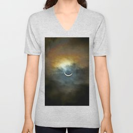 Solar Eclipse II Unisex V-Neck
