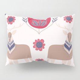 Scandinavian Winter Pattern Beige #society6 #buyart Pillow Sham