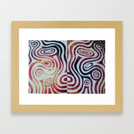 My work Framed Art Print