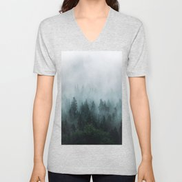 Take Me Somewhere Misty Unisex V-Neck