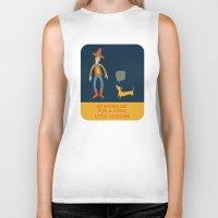 dachshund Biker Tanks featuring Dachshund by Ariel Wilson