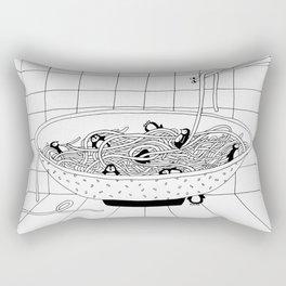 Pinguine Noodles Rectangular Pillow