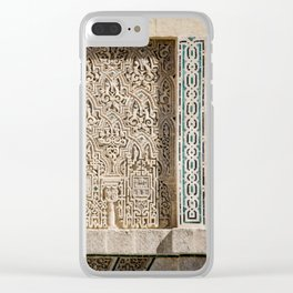 Windowsill at Royal Alcazar of Seville Clear iPhone Case