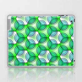 Circles & Hexagons Laptop & iPad Skin