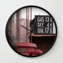 Fill 'er Up Wall Clock