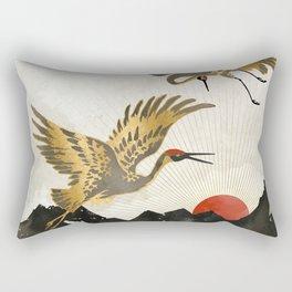 Elegant Flight II Rectangular Pillow