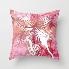 Lovely Lilly Throw Pillow
