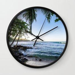 Beachie Business Wall Clock