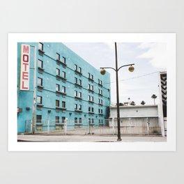 Las Vegas Motel Art Print
