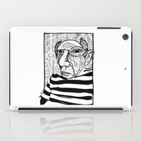 picasso iPad Cases featuring Pablo Picasso by Benson Koo