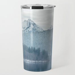 Lake and mountains - Bavarian Alps Travel Mug