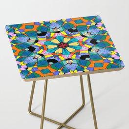 fractal V Side Table