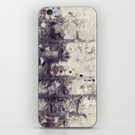 Ultra Violet Brick Wall iPhone Skin