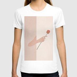 One Rose Flower T-shirt