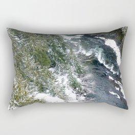 Cold stream Rectangular Pillow