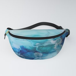 blues in summer Fanny Pack