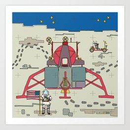 Moon Lem 1969 Art Print