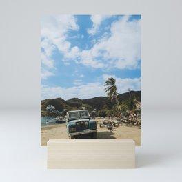 Taganga Colombian Beach Mini Art Print