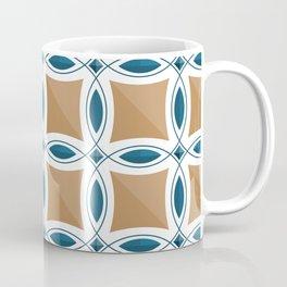 Circles with lens pattern and Diamond Coffee Mug