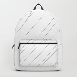 Lines #minimal #abstract Backpack