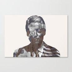 Sir Bill Clinton Canvas Print