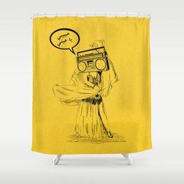 Belly Dancer Habebe Shower Curtain