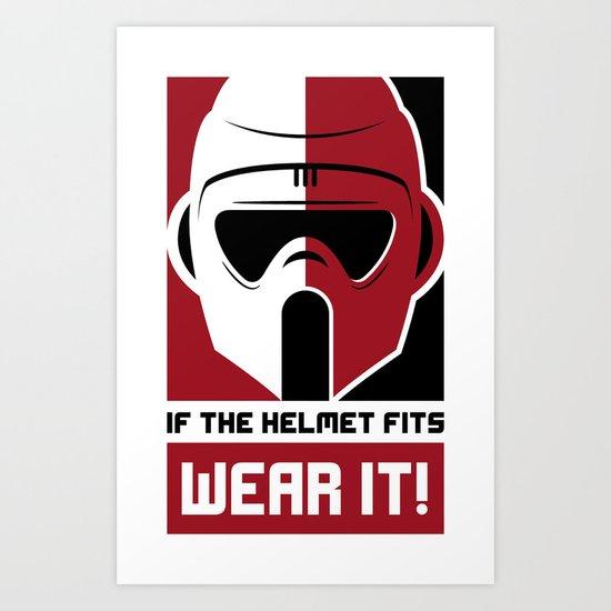 Wear It Art Print