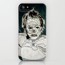 FRIENDLY MONSTERS iPhone Case