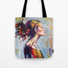 Lena- beautiful woman Tote Bag